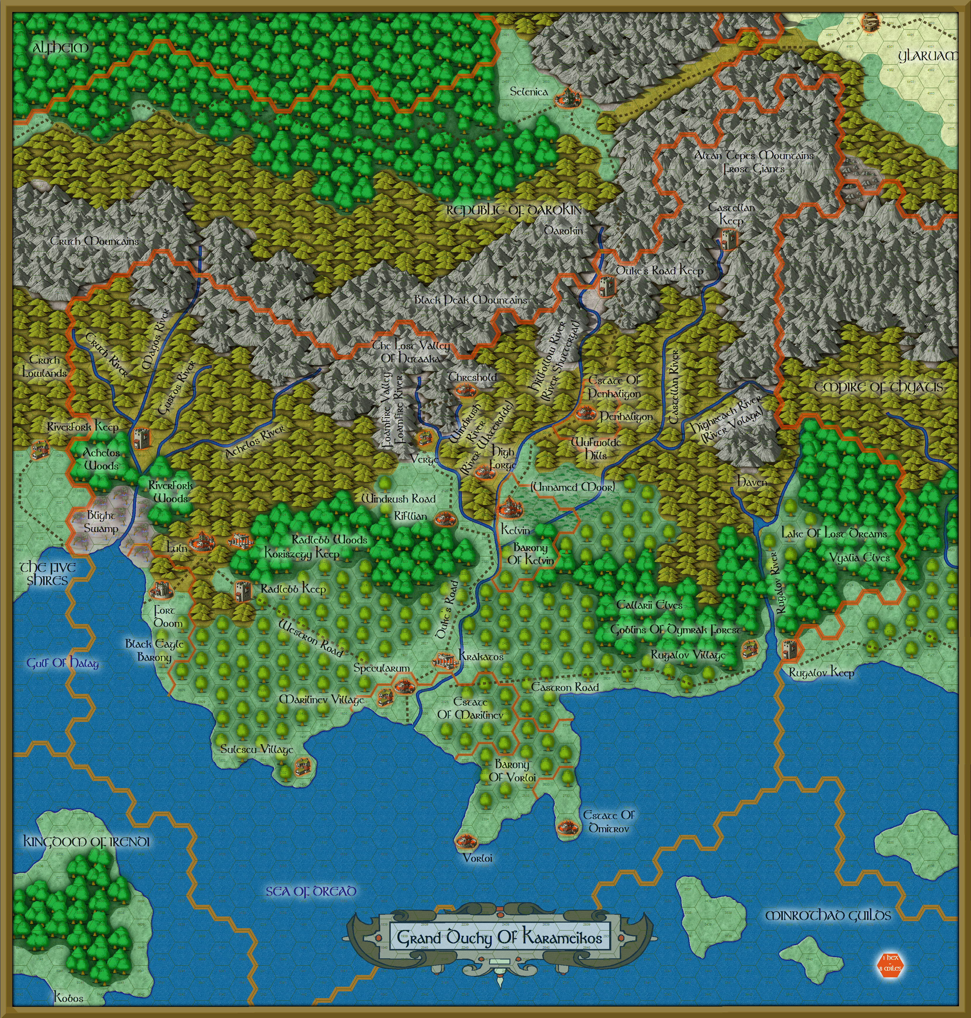 Dragonsfoot View Topic Printing Out Maps - Map of the world print out