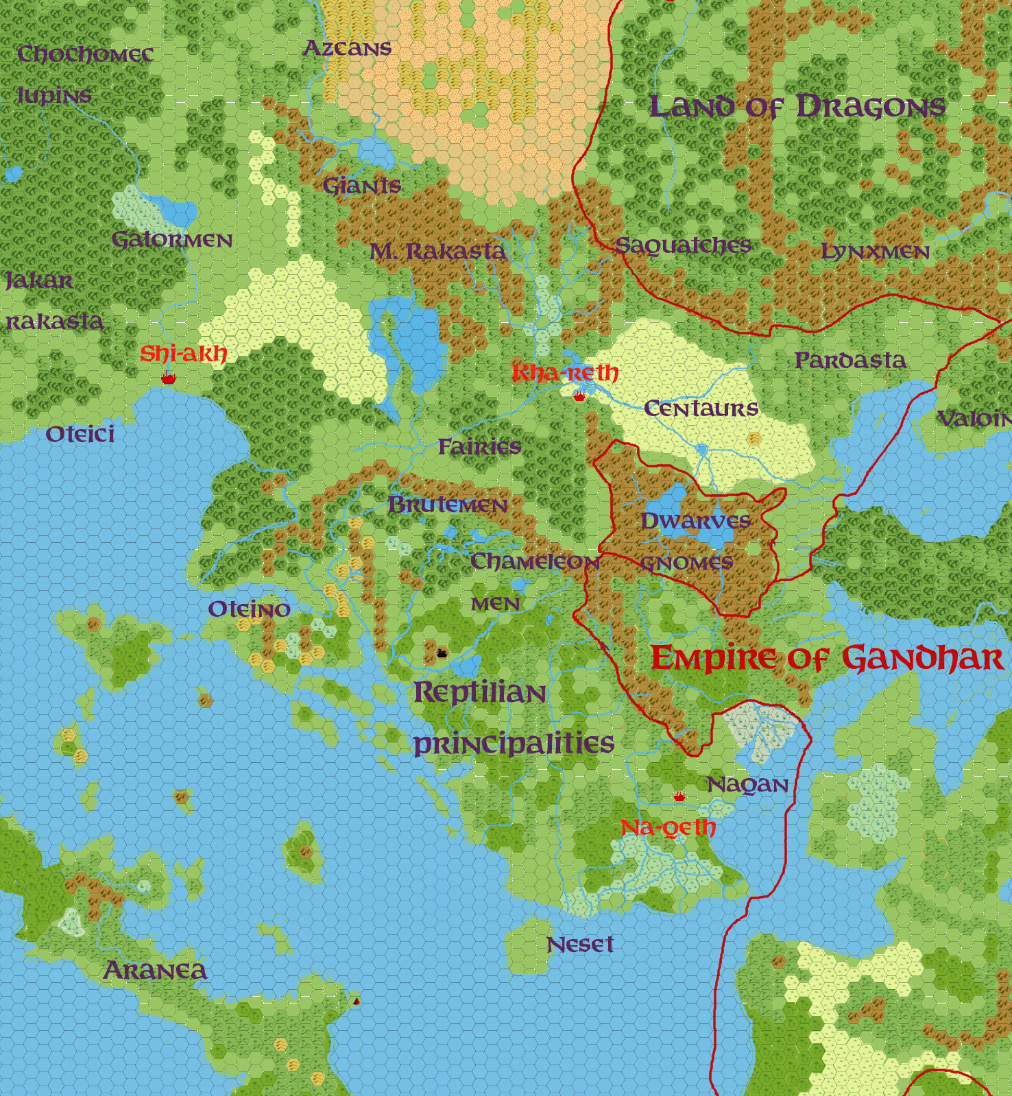 Vaults Of Pandius Updated